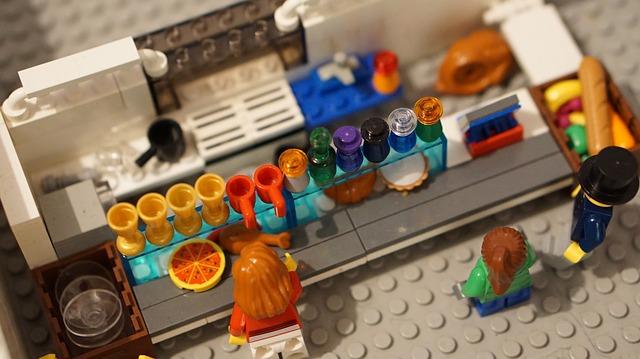Lego dla dziewczynek-kawiarnia